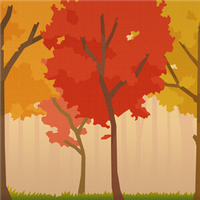 Autumn Trees by Rosemoji
