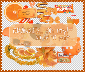 ORANGES... oh my. by sellyourhate