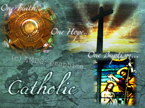 One Faith by AMDG-graphics