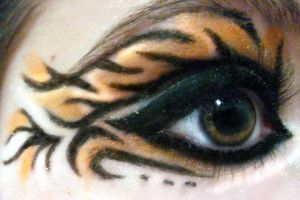 Tiger Makeup by Cannibal-Kenzi