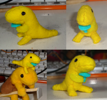 Really Little Salamander Plush by Rayaya