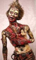 OOAK Undead Singer-- From the Bottom of my Heart by DoNotWakeMe