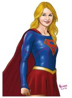 SuperGirl. by Troianocomics