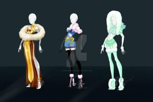 Adoptable Outfits01 - OPEN 1 Left (SET PRICE) by ZodiacNikole