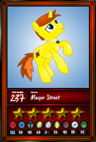 Mayor Street Card by Lakword