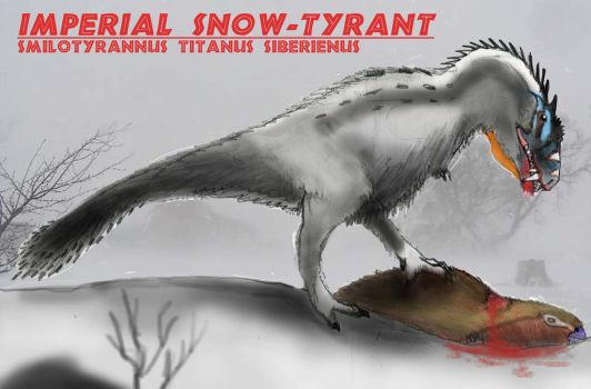 The Imperial Snow Tyrant by Taliesaurus