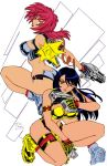 Dirty Pair by voltesfibz by Kenkira