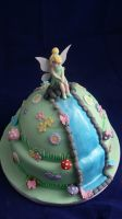 Tinkerbell cake by laylah22
