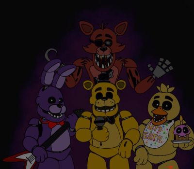 Five Nights at Freddys pt.2 by themaskedhunter