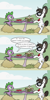 Spike's Blind Date by Pony4Koma