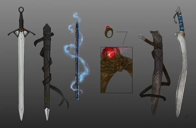 Weapons by DashaFid