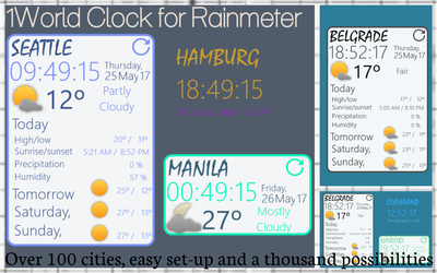 World Clock 1.0 by Darksted