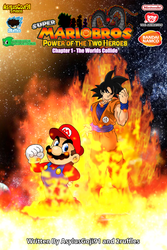 SMB Power of the Two Heroes Cover #01 by AsylusGoji91