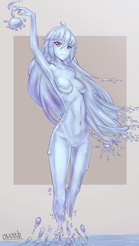 Water spirit by Ovosh147