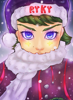 Christmas Coloring Contest by MayStardust