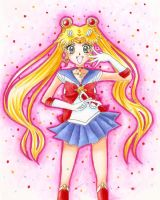 Sailor Moon Crystal - Colored by SpazztasticFanGirl