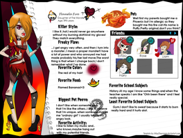 Flamela Fire Bio by BlackRoseAmy