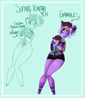 Spring Xynthii YCH (6 Spots) by M1ssNautilus