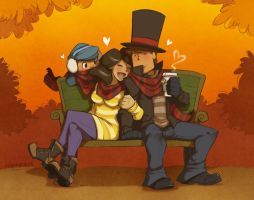Fall is the best time of year by zillabean
