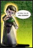 You WILL Call Me Voldemort by GalacticDustBunnies