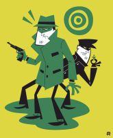 The Green Hornet And Kato by funky23
