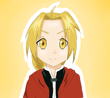 Edward Elric. by chioo