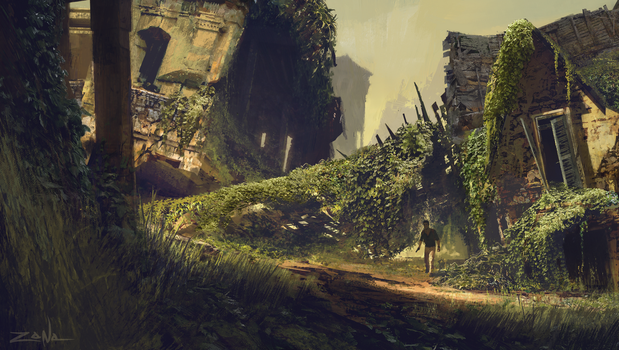 Uncharted 4 - Ruins by EytanZana
