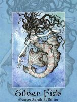 Silver Fish - ACEO by MisticUnicorn