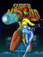 Super Metroid by Artman-eyt