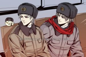 APH: GDR x USSR by xiaoyugaara
