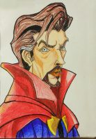 Dr. Stephen Strange by Saeed2898