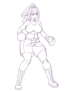 Asura Archer Professional Boxing Gear WIP by deadpoolthesecond