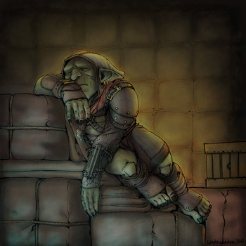 Let Sleeping Goblins Lie by Windmaedchen