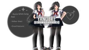 [MMDxYS]~Ayano Aishi V2.0(Long hair)+D'L Update!~ by XutsukushiX