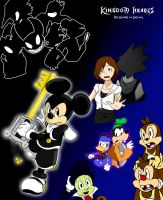KH Fan story picture thingy by SonicHearts