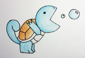 Pac...Squirtle... by WilliamJPierce