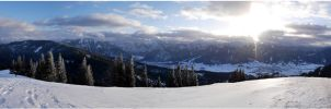 Winter panorama by lomartistic