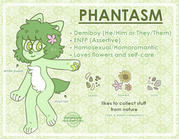 Phantasm - Reference Sheet [OLD] by obakesama