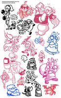 Holy Cow look at this Doodle Dump by JamesmanTheRegenold