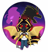 Kaiser Aria (possible button) by FallenAngel5414