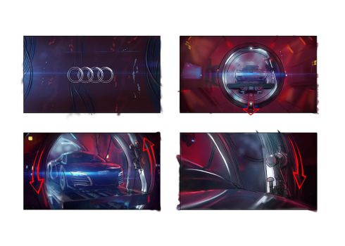 Audi1 Color boards by AOPaul