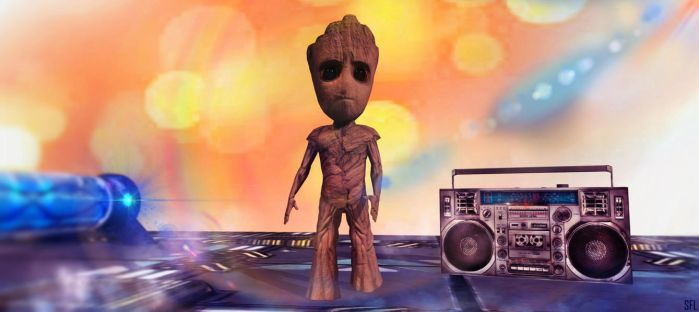 I AM GROOT by scifilicious