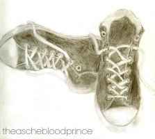 Sketch Book Shoes by theaschebloodprince