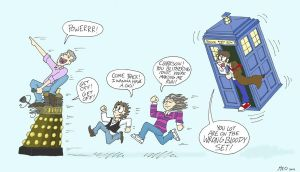 Top Gear meets the 10th Doctor by Naughty123