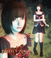 Project Zero 2: Mayu Amakura by KitMartin