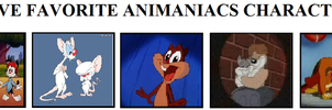 Top 5 Animaniacs Characters by KessieLou