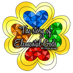 The story of elemental gods Logo by Miss-Gravillian1992
