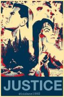 Justice League Poster by UltraWoman