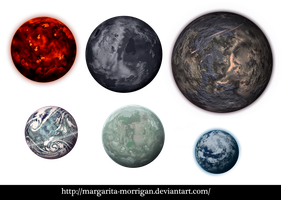 Planets by margarita-morrigan
