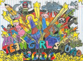 Teen Girl Squad 3000 by Sketchman147